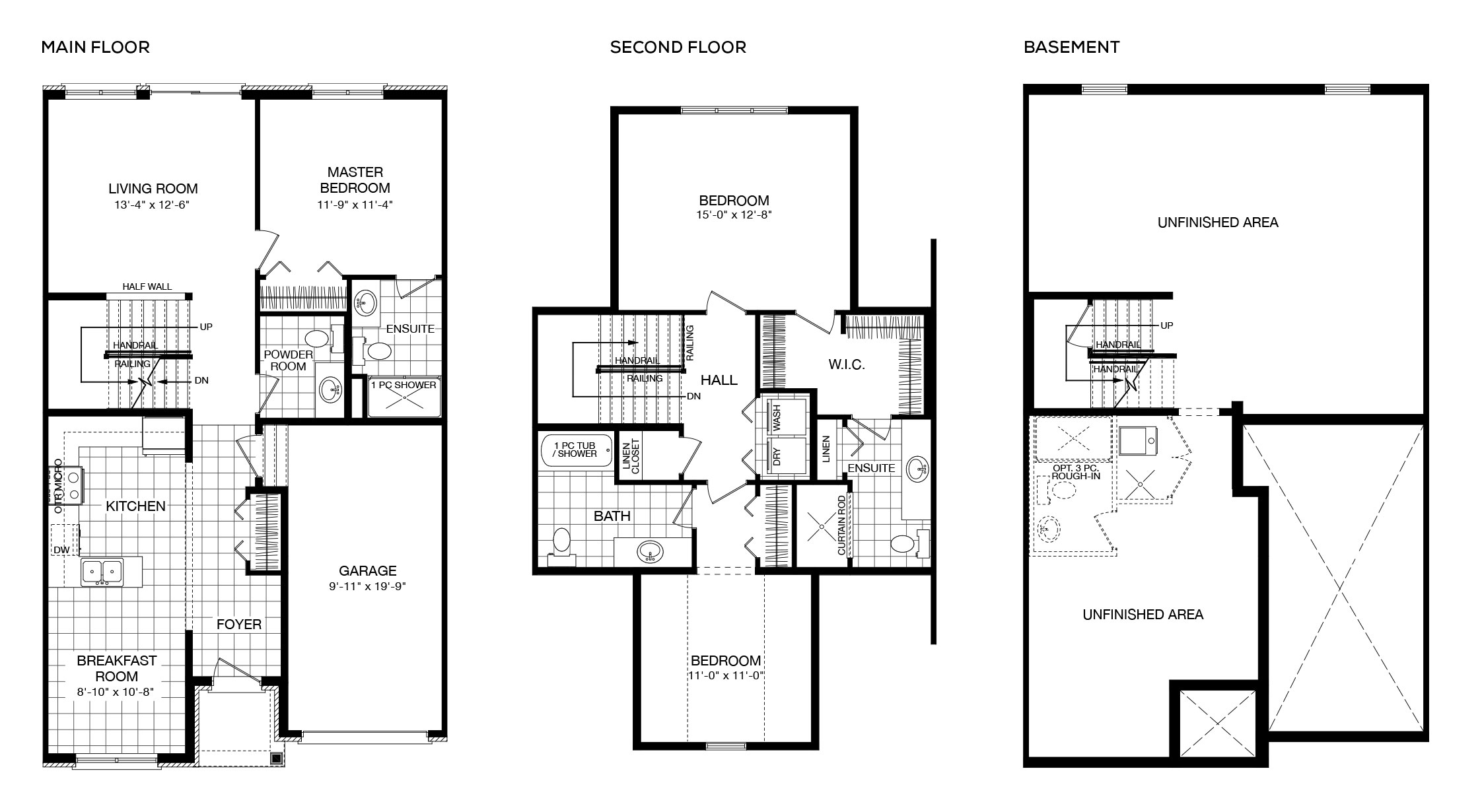 <strong>Alt. Interior Unit</strong> • Two-Storey Townhomes