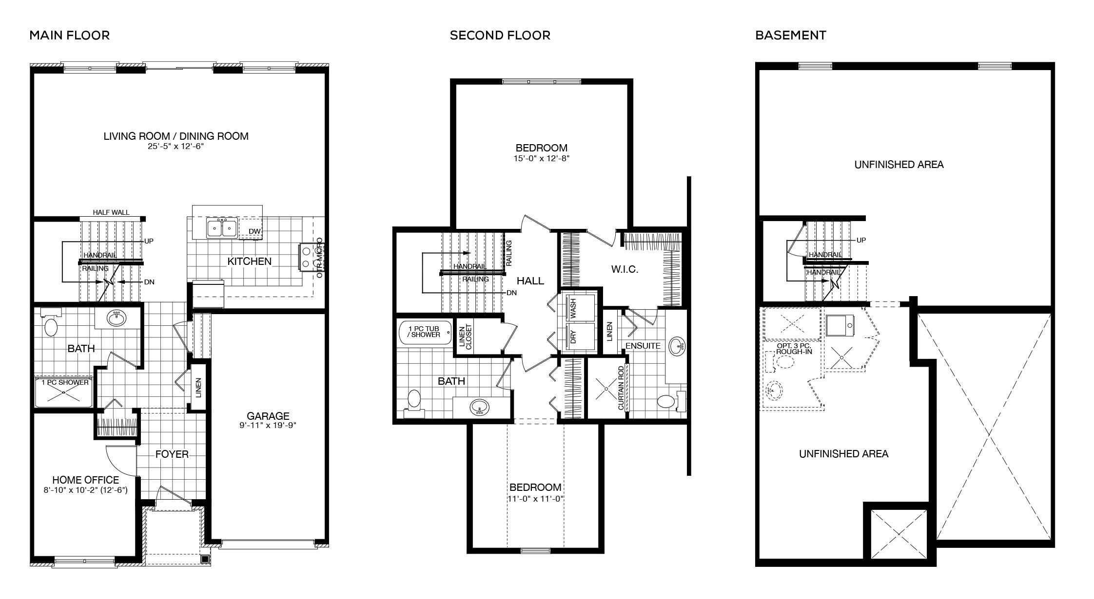 <strong>Interior Unit</strong> • Two-Storey Townhomes